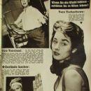 Vera Tschechowa - Funk und Film Magazine Pictorial [Austria] (24 October 1959)