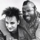 Mr. T & Boy George, 1986 - 250 x 264