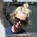 Charlize Theronin Spandex – Out in Los Angeles