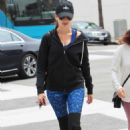 Camilla Belle–Heads to yoga in Beverly Hills