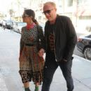 Salma Hayek and Francois-Henri Pinault are spotted out at a doctors office in Beverly Hills, California on August 29, 2016 - 428 x 600