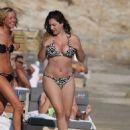 Kelly Brook Wearing A Bikini On A Beach In Greece 2