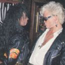 Forgotten couple : Billy Idol and Downtown Julie Brown