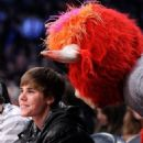 Justin Bieber at the 2011 NBA All-Star Game at Staples Center on Sunday evening Los Angeles February 20, 2011