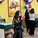 Salma Hayek attends the premiere of Sony's