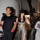 Adriana Lima and Emir Uyar – Night out in Mykonos