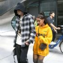 Ariana Grande and Pete Davidson out in Chelsea
