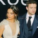 Justin Timberlake and Mila Kunis premiere their new film, Friends with Benefits, on Tuesday (July 26) in Moscow, Russia