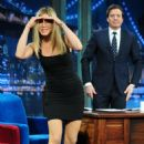 Jennifer Aniston - 'Late Night with Jimmy Fallon' in NY 2011-02-10