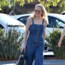 Dakota Fanning and Jamie Strachan out in LA