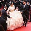 Sonam Kapoor :  'Blackkklansman' Red Carpet Arrivals - The 71st Annual Cannes Film Festival - 454 x 331