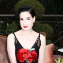 Dita Von Teese – Maison ST-Germain Event in Los Angeles - 454 x 681