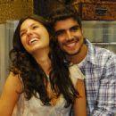 Caio Castro and Isis Valverde