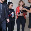 Kourtney Kardashian and Larsa Pippen out in Calabasas