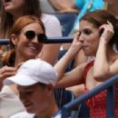 Anna Kendrick and Brittany Snow watch 2019 US Open in NYC - 454 x 303