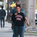 Ashley Benson – Heads to a Pet Hospital with friends in Los Angeles