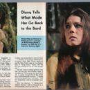Diana Rigg - Sunday Herald Traveler TV Magazine Pictorial [United States] (9 February 1969) - 454 x 298
