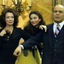 Michael with Dixie Carter & Delta Burke in Filthy Rich - 454 x 333