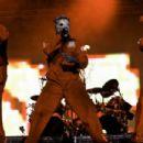 Corey Taylor in Slipknot ´s Show in Rock in Rio Festival (2011)