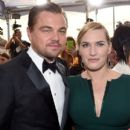Leonardo DiCaprio and Kate Winslet At The 22nd Annual Screen Actors Guild Awards (2016) - 399 x 600
