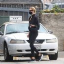 Rosie Huntington-Whiteley – Seen leaving a gym in West Hollywood