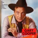 Gary Cooper - Cine Tele Revue Magazine Pictorial [France] (5 May 1966) - 454 x 577