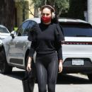 Rumer Willis – Steps out for pilates in West Hollywood