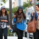 Selena Gomez with girlfriends in Beverly Hills, Ca January 24th,2013 - 454 x 309