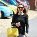 Geri Halliwell – In Jeans Out And About In Yattendon - 454 x 912