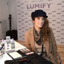 Nikki Reed – Beauty Bar featuring LUMIFY Redness Reliever Eye Drops in NY - 454 x 387