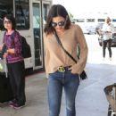 Jenna Dewan at LAX International Airport in LA
