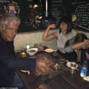 Anthony Bourdain and Ottavia Busia with their daughter - 454 x 339