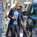 Gigi Hadid In Tights Out In Nyc