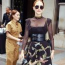 Zoey Deutch – Leaves the George V Hotel in Paris - 454 x 848