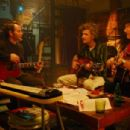Matthew Broderick, Dan Zanes and James Burton in WONDERFUL WORLD, a Magnolia Pictures release. Photo courtesy of Magnolia Pictures.