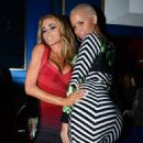Amber Rose attends Carmen Electra's Birthday Party at Hooray Henry's in West Hollywood, California - April 24, 2014 - 454 x 567