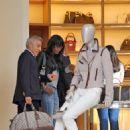 Naomi Campbell Shopping In Paris, June 1 2010