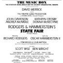 STATE FAIR Original 1996 Broadway Cast -Rodgers & Hammerstein II - 454 x 759