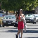 Victoria Justice – – Looks sporty after workout in Los Angeles - 454 x 532