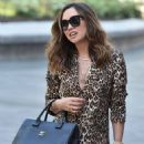 Myleene Klass – Seen at the Global studios in London