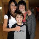 Josh Hutcherson and Shannon Wada