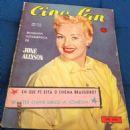 Betty Grable - Cine-Fan Magazine Cover [Brazil] (April 1956)