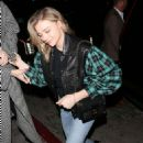 Chloe and Trevor Moretz – Arriving for a private 'Louis Vuitton' Dinner in West Hollywood