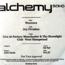 Live At Factory Manchester & The Moonlight Club West Hampstead