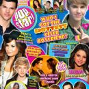 James Maslow, Logan Henderson, Carlos Pena, Kendall Schmidt, Robert Pattinson, Cody Simpson, Victoria Justice, Selena Gomez, Justin Bieber, Demi Lovato, Taylor Lautner, Sarah Hyland, Katy Perry, Booboo Stewart - Popstar! Magazine Cover [United States] (6