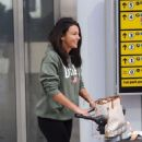Michelle Keegan – Arriving at Heathrow Airport in London - 454 x 812