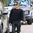 Sofia Boutella – Seen after Pilates session in Los Angeles