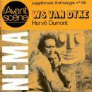 Monte Blue - Anthologie du cinema Magazine Cover [France] (July 1975)