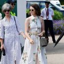 Claire Foy – Wimbledon Tennis Championships 2019 in London - 454 x 645