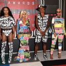 Blac Chyna and Amber Rose Attend the 2015 VMA Awards at the Microsoft Theater in Los Angeles, California - August 30, 2015 - 454 x 328
